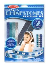 Press On Rhinestones, Headband Set