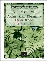 Introduction to Poetry: Formas and Elements Progeny Press Study   Guide, Grades 8-12