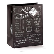 Grad, For I Know the Plans I Have For You, Gift Bag, Medium