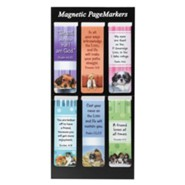 Magnetic Bookmarks, Set of 6, Puppies Assortment II
