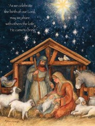 Holy Family Christmas Cards, Box of 18