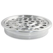 Polished Aluminum Communion Cup Tray
