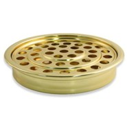 Brass-tone Communion Tray
