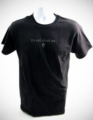 It's All About Him T-Shirt, Black, Medium (38-40)