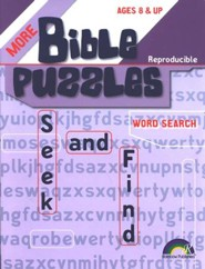More Bible PUzzles Seek and Find
