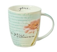 Grace is Sufficient, Flower Mug
