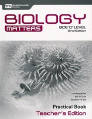 Biology Matters Practical Book Teacher's Edition: GCE Ordinary Level 2nd Ed. Grades 9-10