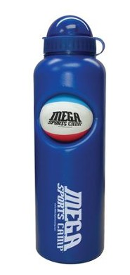 MEGA Sports Camp Water Bottle & Ball