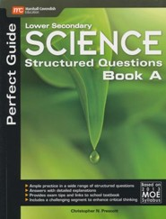 Lower Secondary Science Matters Structured Questions Volume A