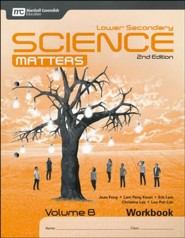 Lower Secondary Science Matters Workbook B Grade 8, 2nd Edition