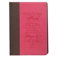 For I Know the Plans, iPad Air Cover, Pink