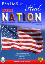 Psalms to Heal Our Nation: DVD & CD