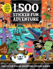 1,500 Sticker Fun Adventure