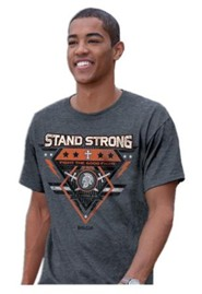Stand Strong, Fight the Good Fight Of Faith Shirt, Black, XX-Large