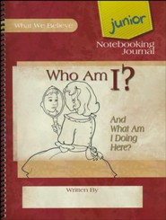 Who Am I? Junior Notebooking Journal