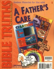 BJU Bible Truths Grade 1: A Father's Care, Student Materials   Packet