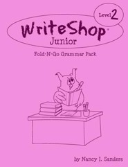 WriteShop Junior Level 2 Fold-N-Go Grammar Pack