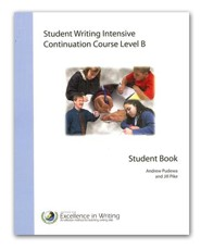 Student Writing Intensive Continuation Course Level B Extra Student Handouts Packet