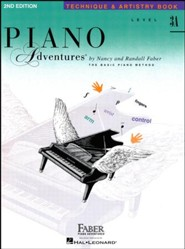 Piano Adventures 2nd Edition, Technique & Artistry Book, Level 3A