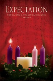 Expectation (Isaiah 9:6) Advent Bulletins, 100