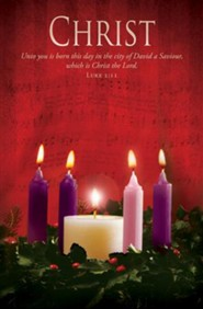 Christ (Luke 2:11, KJV) Advent Bulletins, 100