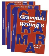 Saxon Grammar & Writing Grade 8