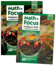 Math in Focus Grade 7 1st Semester Homeschool Package