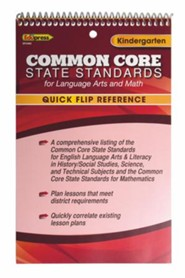 Quick Flip Common Core State Standards, Grade K