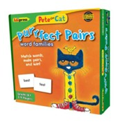 Pete the Cat® Purrfect Pairs Game, Word Families