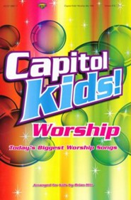 Capitol Kids! Worship, Choral Book