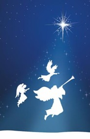 Silhouette Advent 3 Angels, Pack of 50 Bulletins