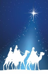 Silhouette Epiphany Wise Men, Pack of 100 Bulletins