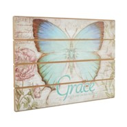 Grace, Butterfly Plaque