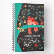 Deeply Rooted In God's Love, Wirebound Notebook