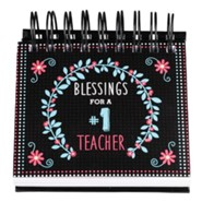 Blessings For A #1 Teacher Perpetual Calendar