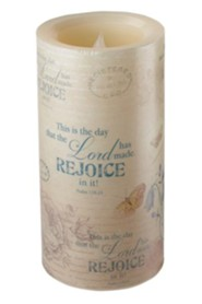 Rejoice LED Candle