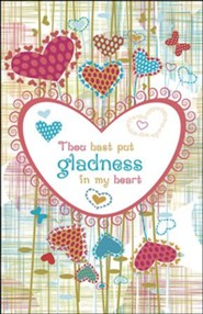 Gladness in my Heart Artwork (Psalm 4:7) Bulletins, 100