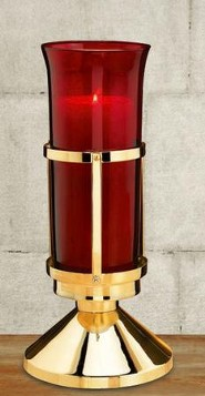 Brass Sanctuary Lamp