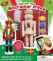 Nutcracker Prince, Wood Paint Kit