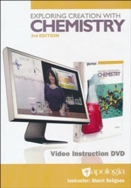 Exploring Creation with Chemistry Video Instruction DVD-Rom  (3rd Edition)