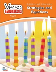 VersaTiles Math: Addition and Subtraction Strategies and Equations (Grade 1)