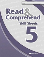 Abeka Read & Comprehend Skill Sheets 5