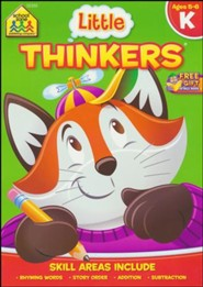 Little Thinkers: Kindergarten Deluxe Edition Workbook