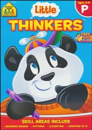Little Thinkers: Preschool Deluxe Edition Workbook
