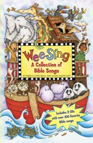 Wee Sing Bible Songs Book and CD Collection: (2 books and 2 CDs)