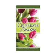 Celebrate Easter (Job 19:25, KJV) Offering Envelopes, 100