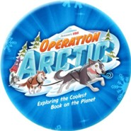 Operation Arctic VBS: Logo Button (pack of 10)