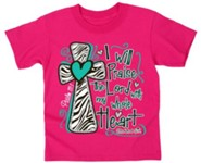 Praise the Lord Shirt, Pink, Youth Medium