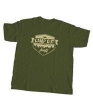 Camp Out Staff T-Shirt, 2X-Large (50 - 52)