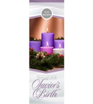 We Believe Sing of our Savior's Birth Advent Bookmarks, 25